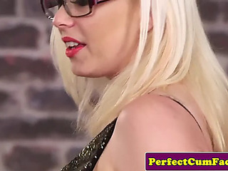 British progenitrix i'd like to have a passion sucks for facial at her office
