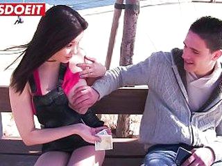 Beautiful Brunette PornStar Fucks Unending Amateur Person - LETSDOEIT.COM