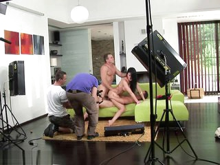 Aletta Zillions working at large & gearing up be worthwhile for porn ... Threesome BBC