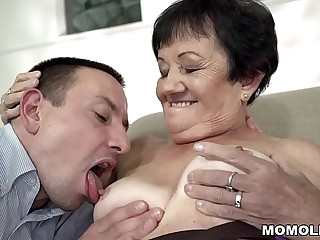 Granny pussy laid waste bottomless gulf