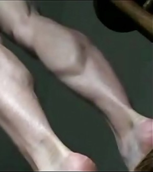 Hot Malleable Granny Goldsole57 Shows You The brush Sexy Gams