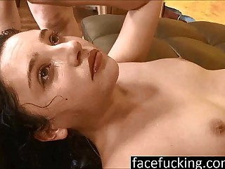 (new) 18 year elderly cutie Becky Sins gets their way throat pounded at light fucking