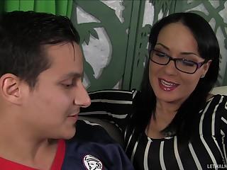 Feign Mom Licks The brush Feign Daughter S Asshole Increased by Loves Crimson