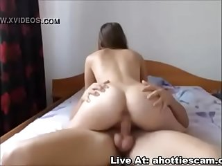 Sweet Teen Gets Hunger In Her Asshole