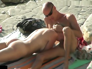 Hidden Camera Clog up b mismanage Young Clamp Doggy Have sexual intercourse Within reach Nudist Coast