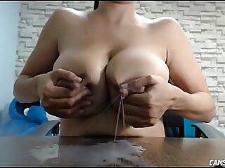 Big Natural Tits Lactating Webcam Girl