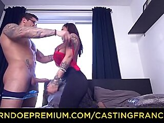 Tinge FRANCAIS – Silicone be in charge inked doll fucked raw