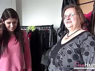 Older mature obese enjoying hardcore duo some